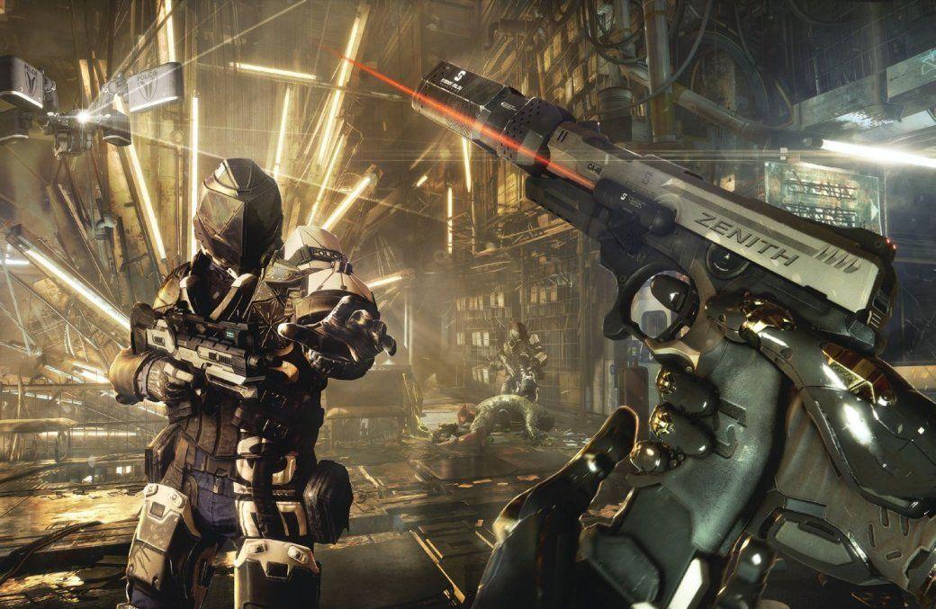 Imagenes Deus Ex Manking Divided
