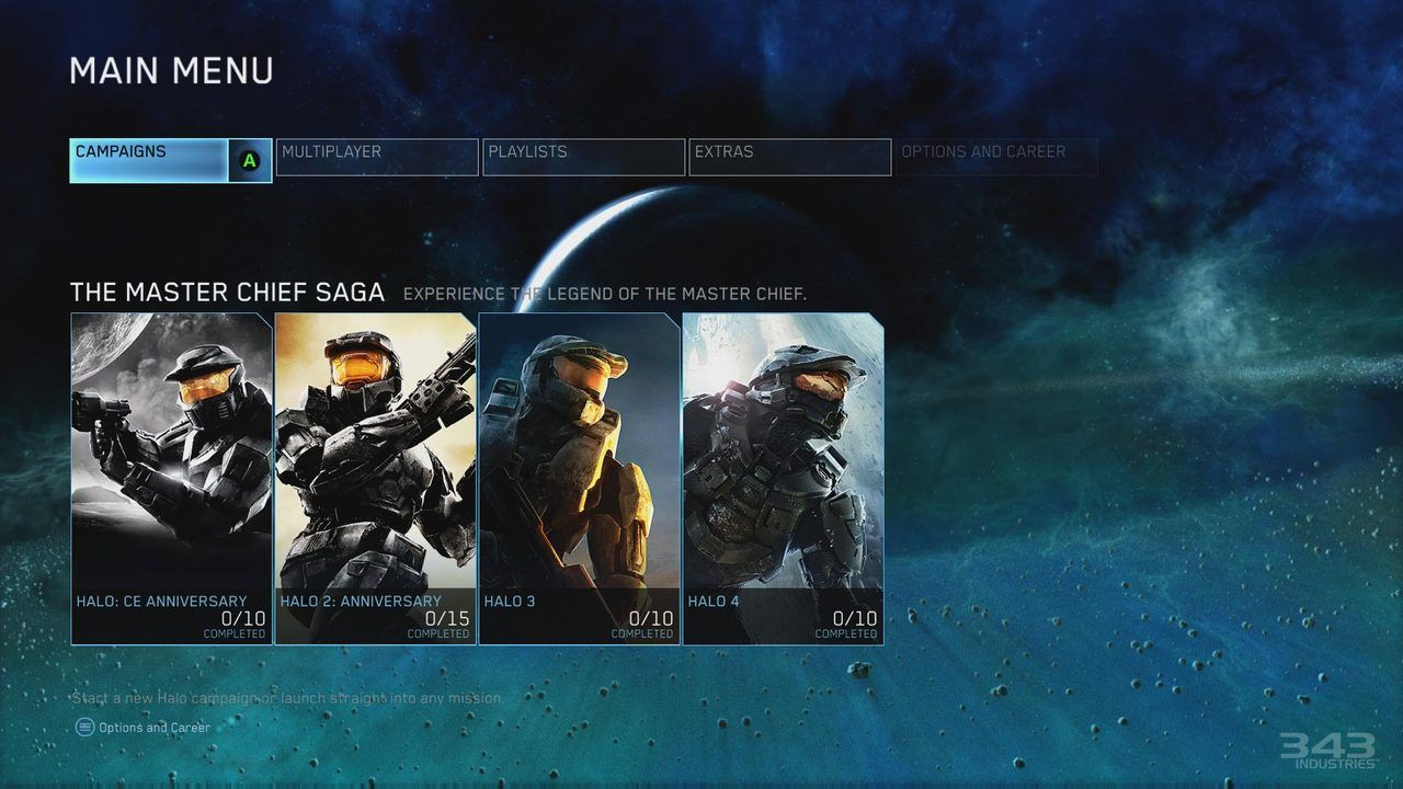 Master Chief Collection Video