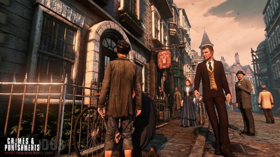 Sherlock Holmes Gameplay Video