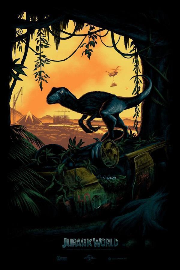Poster Comic-Con Jurassic World