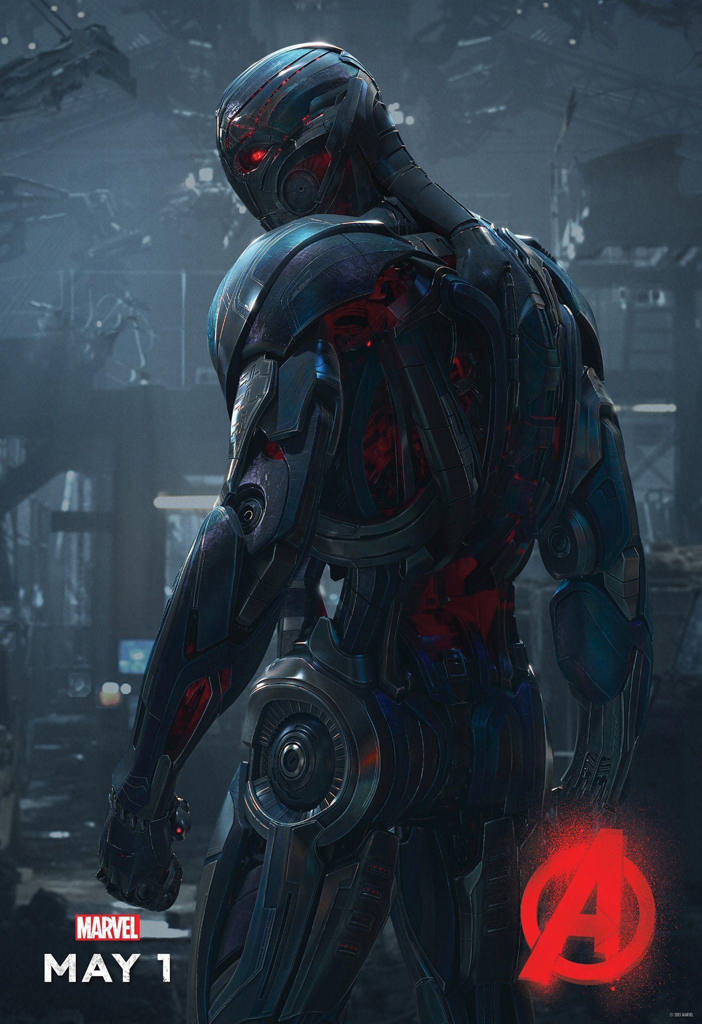Poster Ultron Vengadores