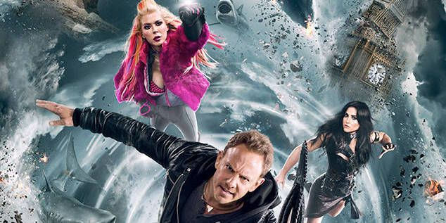 """Sharknado 5: Aletamiento Global"": Entrevistamos a Cassie Scerbo"