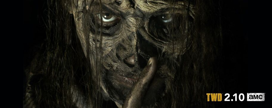 """The Walking Dead"": Primera imagen de Samantha Morton como Alpha"
