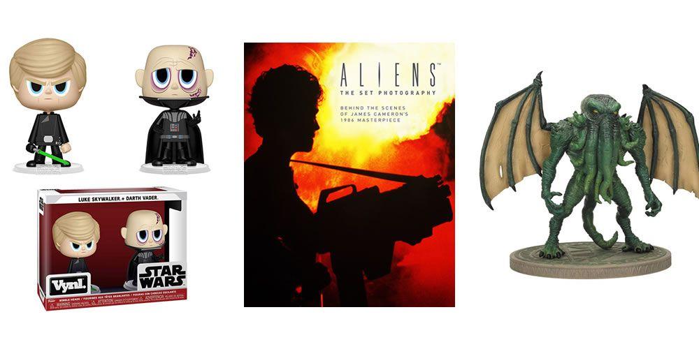Aliens, Cthulhu, Star Wars y Libros en las ofertazas de hoy