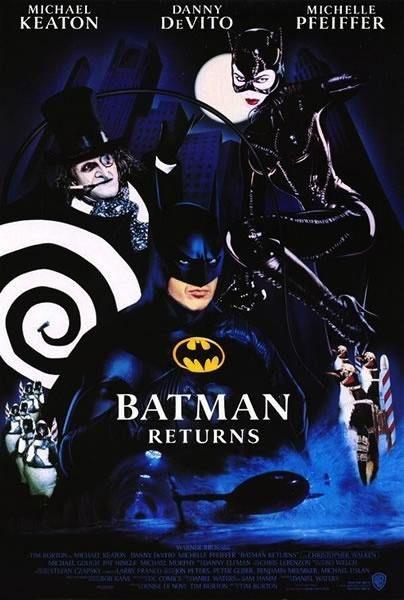 Poster Batman Vuelve
