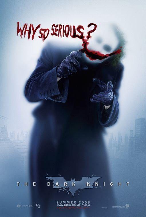 Poster Caballero Oscuro