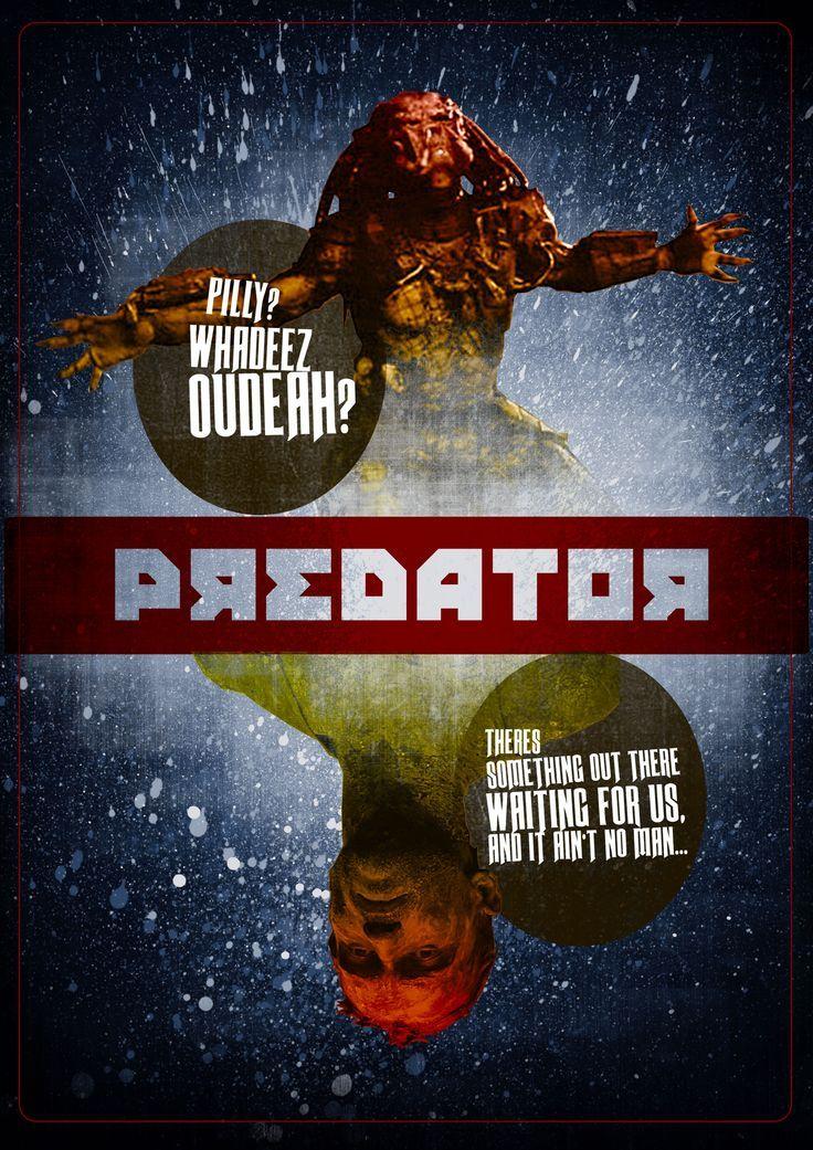 Retro-Poster Depredador