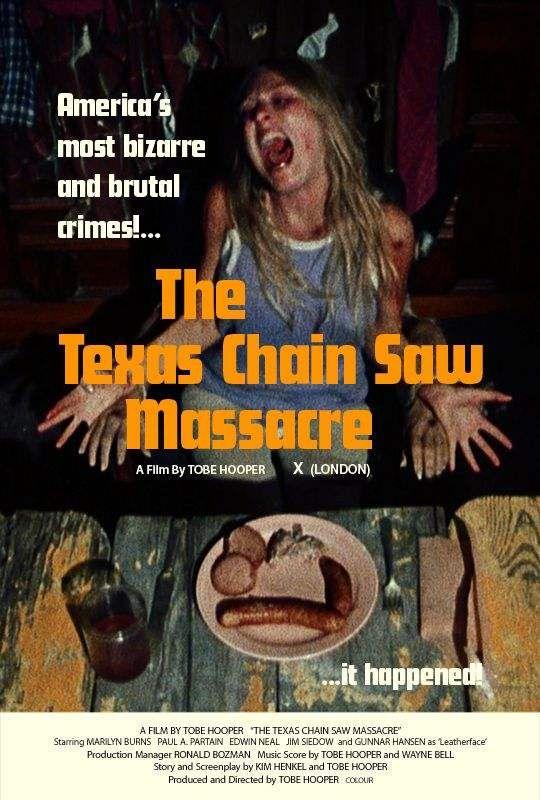Posters Matanza Texas