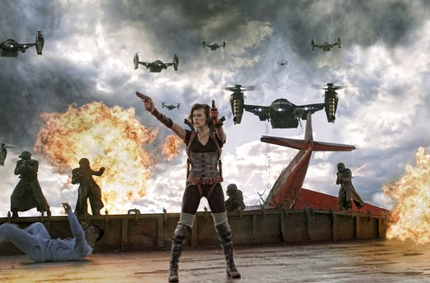 Ali Larter confirma que Resident Evil: The Final Chapter es el final de la saga