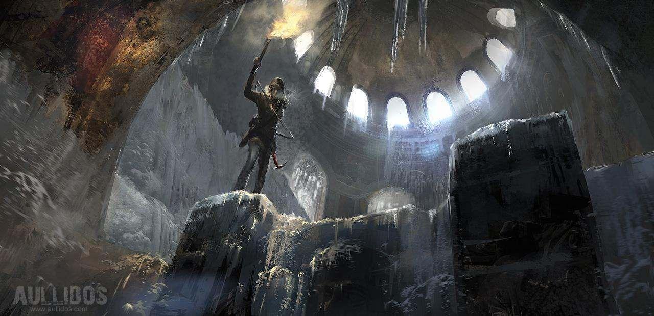 Imágenes Conceptuales Rise Tomb Raider