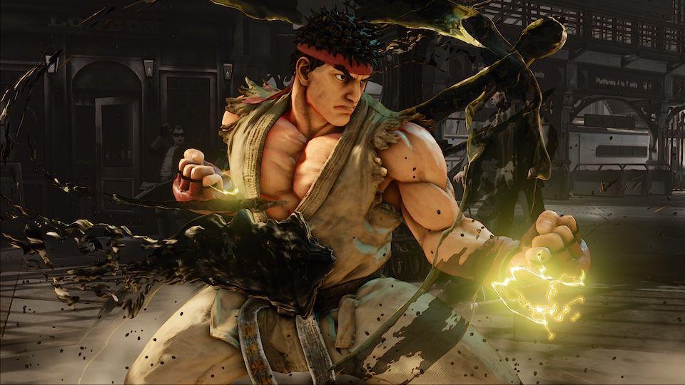 Sistema Combate Street Fighter V