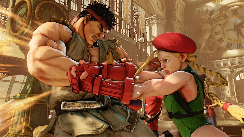 Street Fighter V imagenes y trailer
