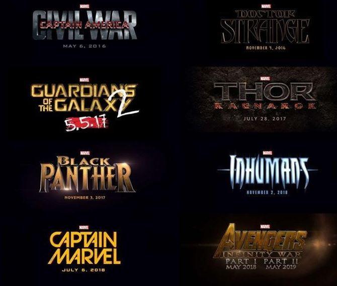 Anuncio Marvel
