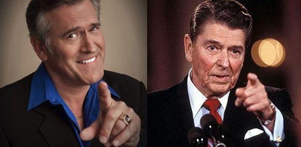 Bruce Campbell Ronald Reagan