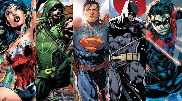 DC Sitcom personajes