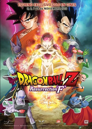 Dragonaball resurrection f