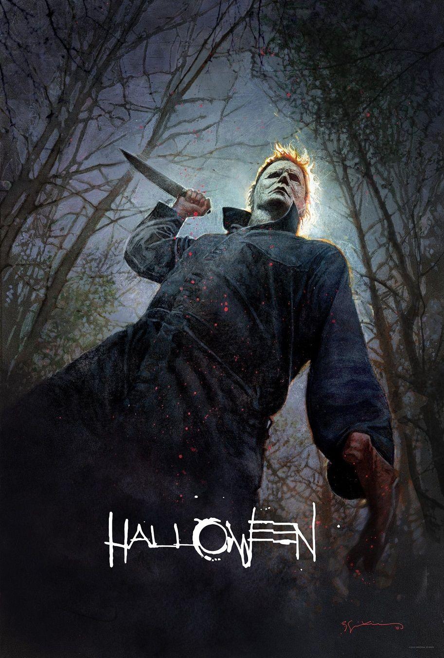 Poster Halloween Comic COn 2018