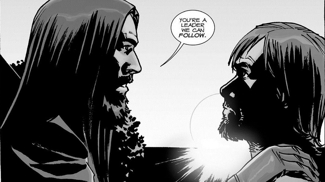 Actor para ser Jesus en The Walking Dead