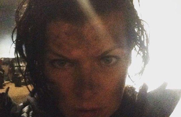 Milla Jovovich rodaje Resident Evil Final Chapter