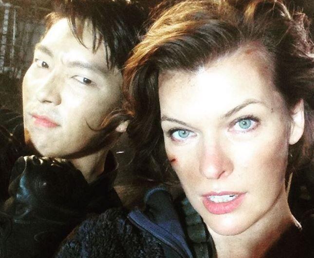 Lee Joon-gi Resident Evil