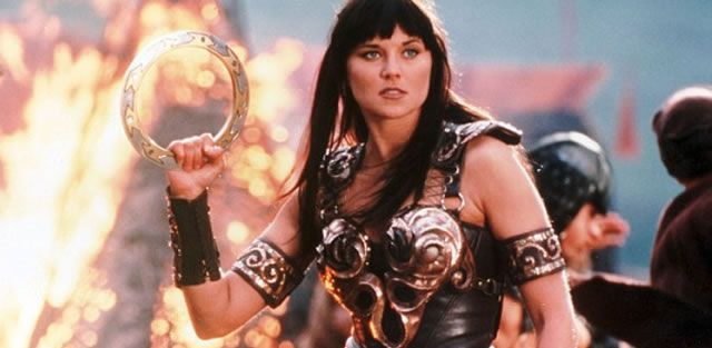 Lucy Lawless Ash vs Evil Dead