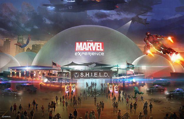 Primera imagen Marvel Experience