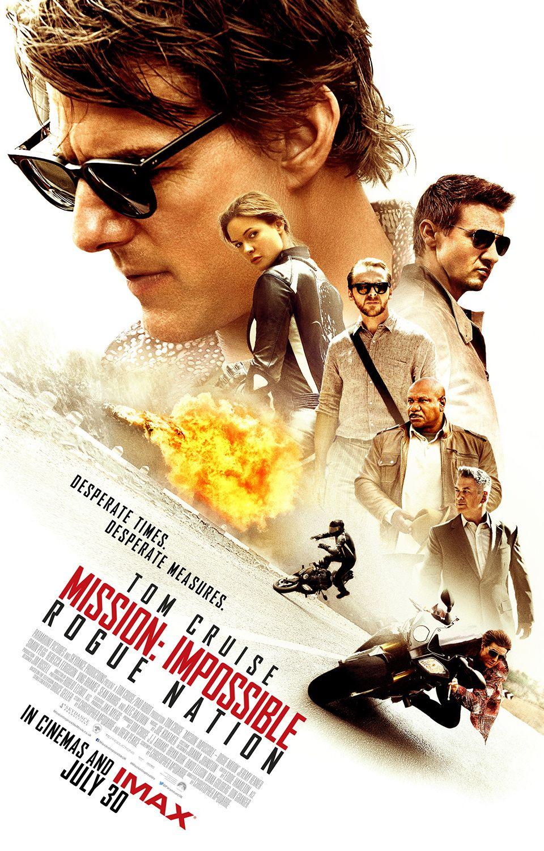 Poster IMAX Mision Imposible Nacion Secreta