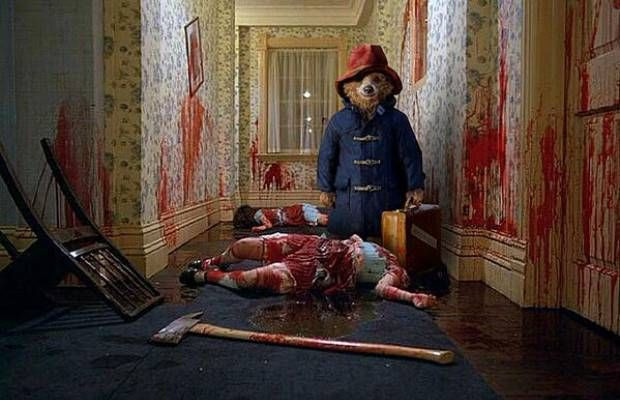 Paddington Bear El Resplandor