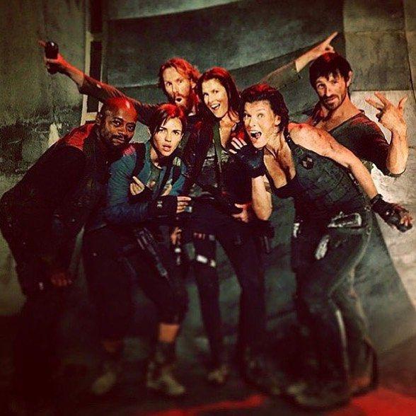 Mas imagenes rodaje Resident Evil