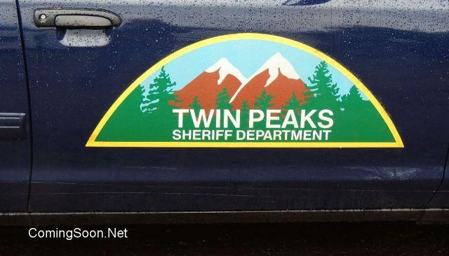 Imagenes del rodaje de Twin Peaks